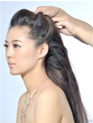2016影楼流行韩式发型 婚纱韩式发型步骤图解