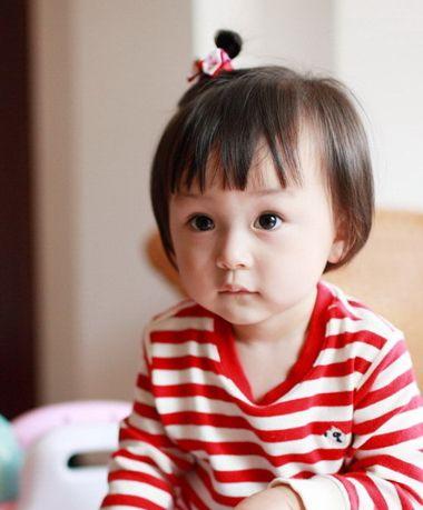 发型设计 儿童发型 >> 女孩好看的发型 女童短发发型图片(4)  2015-11