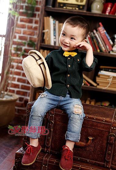 最潮儿童发型图片 2岁男孩发型图片(2)图片