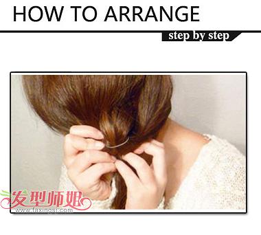 学生长头发的mm如何扎辫子(2)