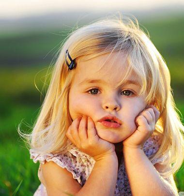 sp;天真烂漫的小女孩简直是人见人爱