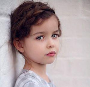 小孩编发发型短发 可爱编发发型(2)