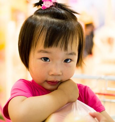 扎两岁 小女孩发型,什么样的扎发最好看呢?