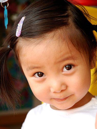 儿童2岁怎么扎头发 小朋友扎头发发型大全(2)图片