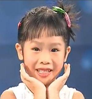小女孩可爱发型扎发步骤