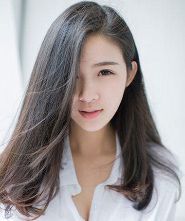 直发染什么颜色头发好看 黑发直发挑染头发图片 发型师姐图片