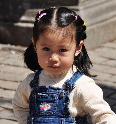 小姑娘短发怎么 编头发?小编为你介绍几款常见款小女孩短发 编发!图片