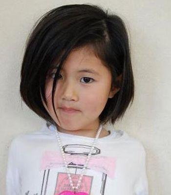 小学女生发型短发 简单又漂亮的小学生发型图片