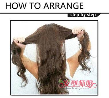 女孩可爱发型 女生怎么扎可爱发型步骤图片