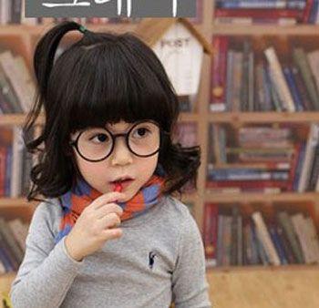 2016韩式儿童发型 最流行的儿童发型(2)