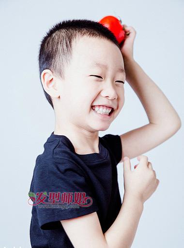 男儿童发型图片 小男孩发型设计 竖