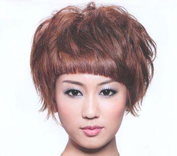 纹理烫卷发发型图片女 纹理烫发发型图片(4)图片
