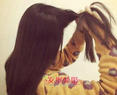 儿童扎长头发的方法图解 小女孩怎么扎长头发