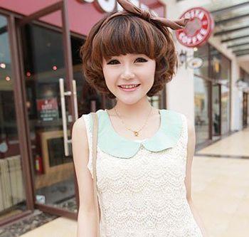 娃娃脸女生短发发型 娃娃脸适合的发型图片(4)图片