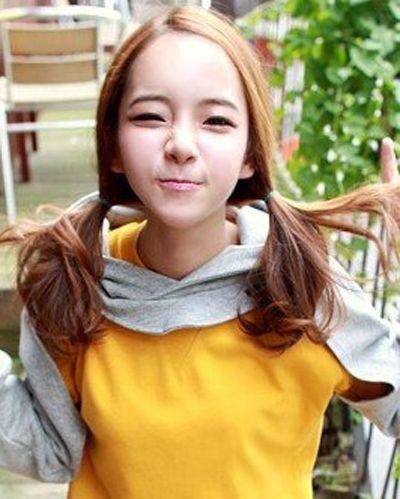 小女孩韩式发型辫子 长头发韩式发型扎法