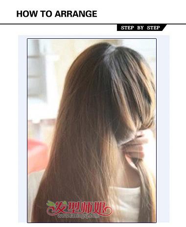 怎么编头发盘头发 女生编头发图解