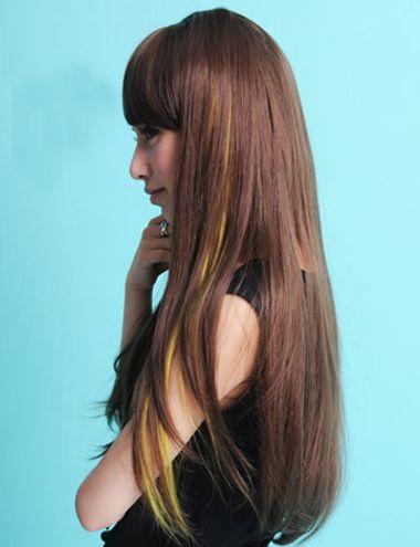 直发要不要染色 直发染什么颜色好看(3)_发型师姐图片
