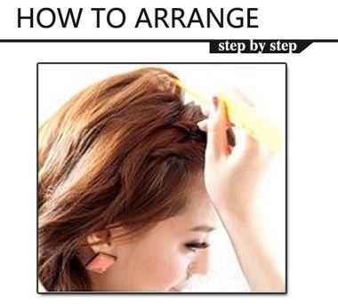 辫子发型女孩步骤 女生辫子发型2016(3)