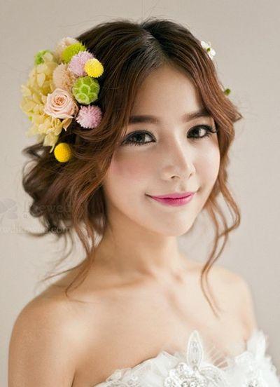 大圆脸短发发型_适合圆脸的新娘发型 圆脸新娘发型图片(3)_发型师姐