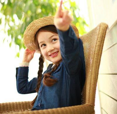幼儿园儿童发型 齐刘海儿童发型图片女孩(3)