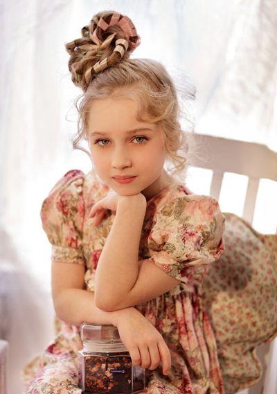 幼儿园儿童发型 齐刘海儿童发型图片女孩(2)