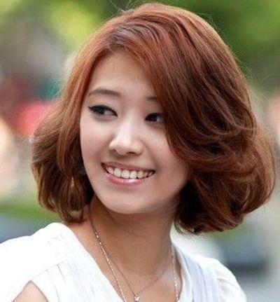 适合圆脸的短发发型图片2016女 短发圆脸发型图片2016图片