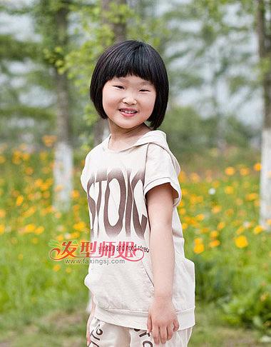 小学生女生短发发型 小学生发型图片大全(2)