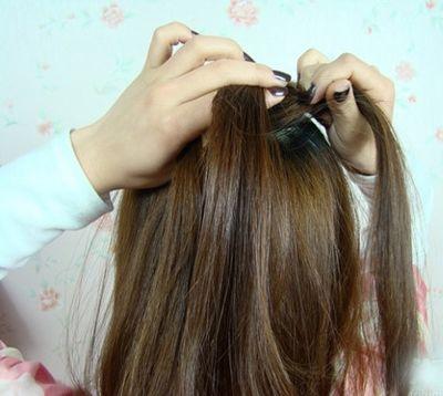 小女孩漂亮的蜈蚣辫发型 怎样编蜈蚣辫子发型图解