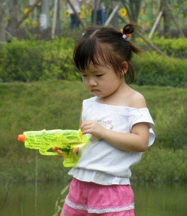 小女孩扎发发型 女宝宝短发扎发发型图片(4)图片