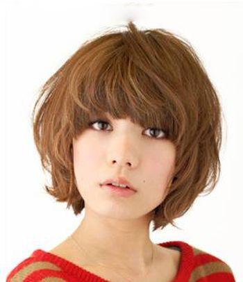 2016年方脸脸型与发型的搭配 方脸适合的短发型图片图片
