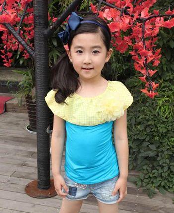 小学生扎头发发型 小女孩漂亮简单的扎发发型图片