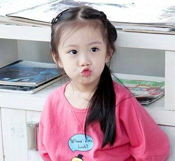 小学生扎头发发型 小女孩漂亮简单的扎发发型(4)图片