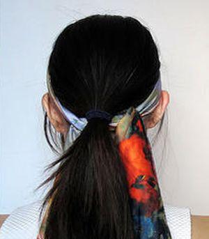 长头发丸子头的扎法 丸子头需要头发多长