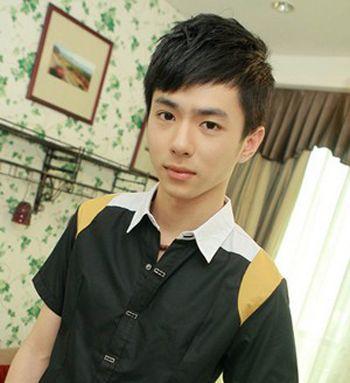 男生斜刘海发型设计 男式斜刘海发型图片(2)图片