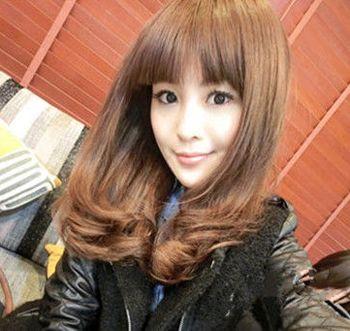 2016年韩版内扣式中长款梨花头 长版梨花头发型图片(4图片
