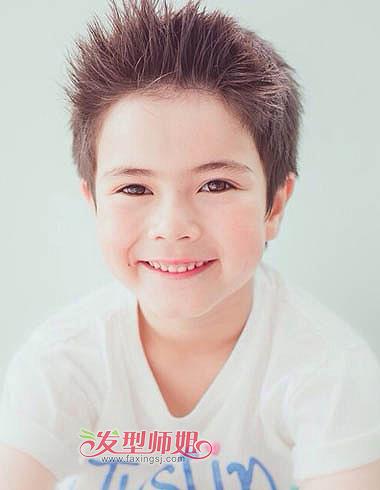 男童发型有哪些 小男孩发型设计图片图片