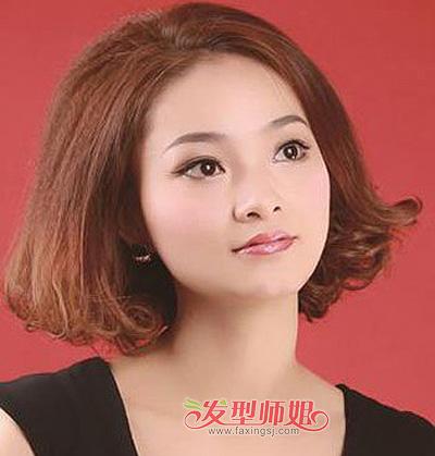 国字脸女生短发适合什么发型 国字脸女生的短发设计发型图(2)图片