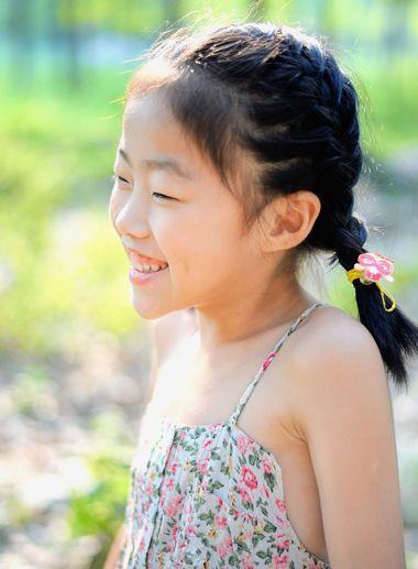 编头发发型有哪些 小孩编头发图解(4)