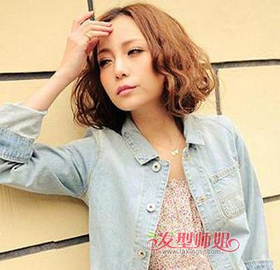 大圆脸短发型 大圆脸适合什么短发型(4)