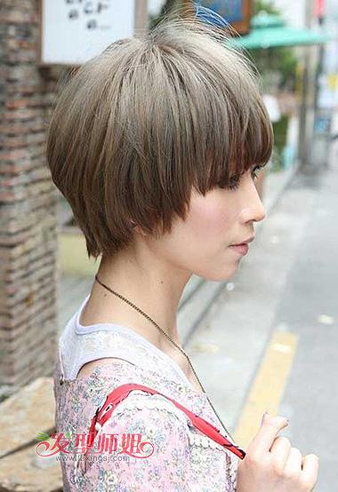 韩国学生发型 韩国中短发学生发型(2)