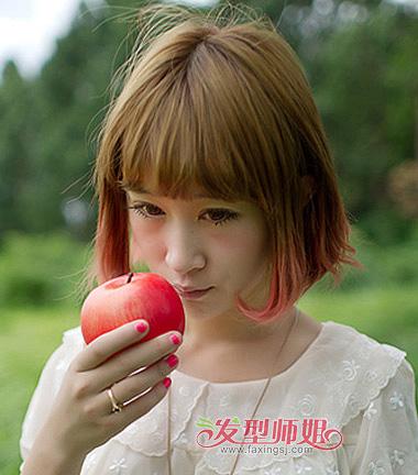 瓜子脸内扣梨花头-瓜子脸适不适合波波头 瓜子脸梨花头和波波头哪个