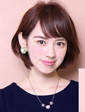 适合波波头的脸型 国字脸剪波波头发型图片