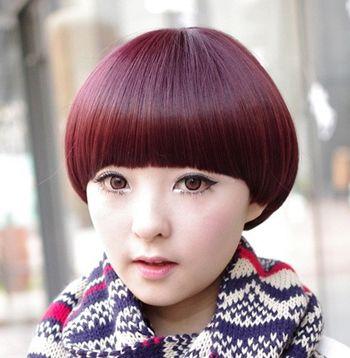 适合圆脸的短发发型 圆脸女生时尚短发发型图片(4)图片