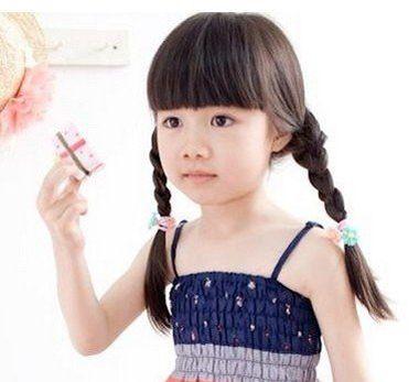 2016简单扎头发发型 儿童扎头发发型图片图片