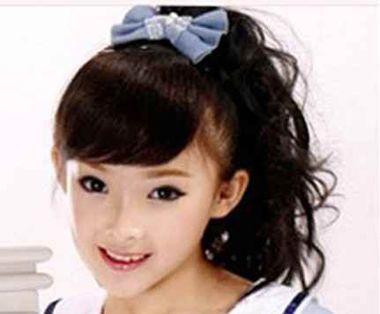 2016简单扎头发发型 儿童扎头发发型图片(3)