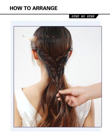 上班族如何编发 长发上班族编辫子发型(5)