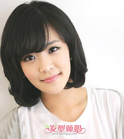 波波头短发发型图片 波波头发型怎么打理(2)图片