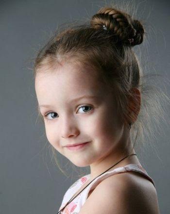 小女孩编头发的发型 长发编头发发型图片