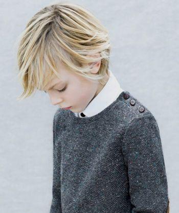 最新男童发型图片 男孩蘑菇头发型 发型师姐