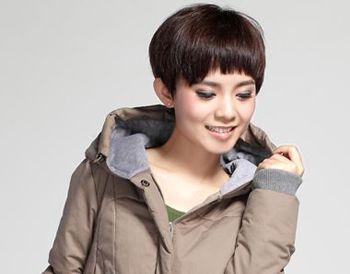 韩式简单发型 韩式显年轻的短发发型(4)
